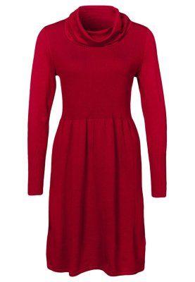 Strikket kjole - rød
