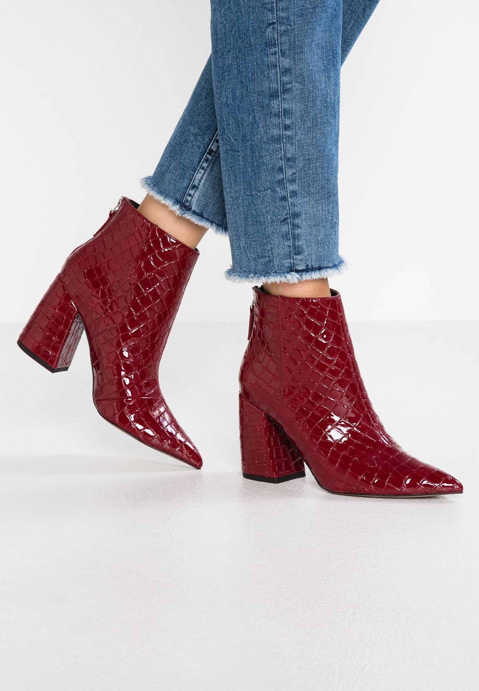 53b5148da52 Topshop HOUSTON - High Heel Stiefelette - red - Zalando.de