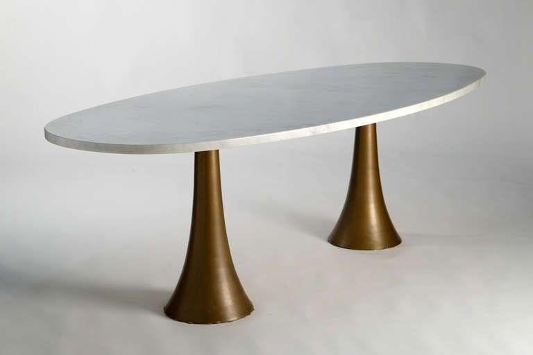 Oval Table By Angelo Mangiarotti Oval Table Dining Metal Dining