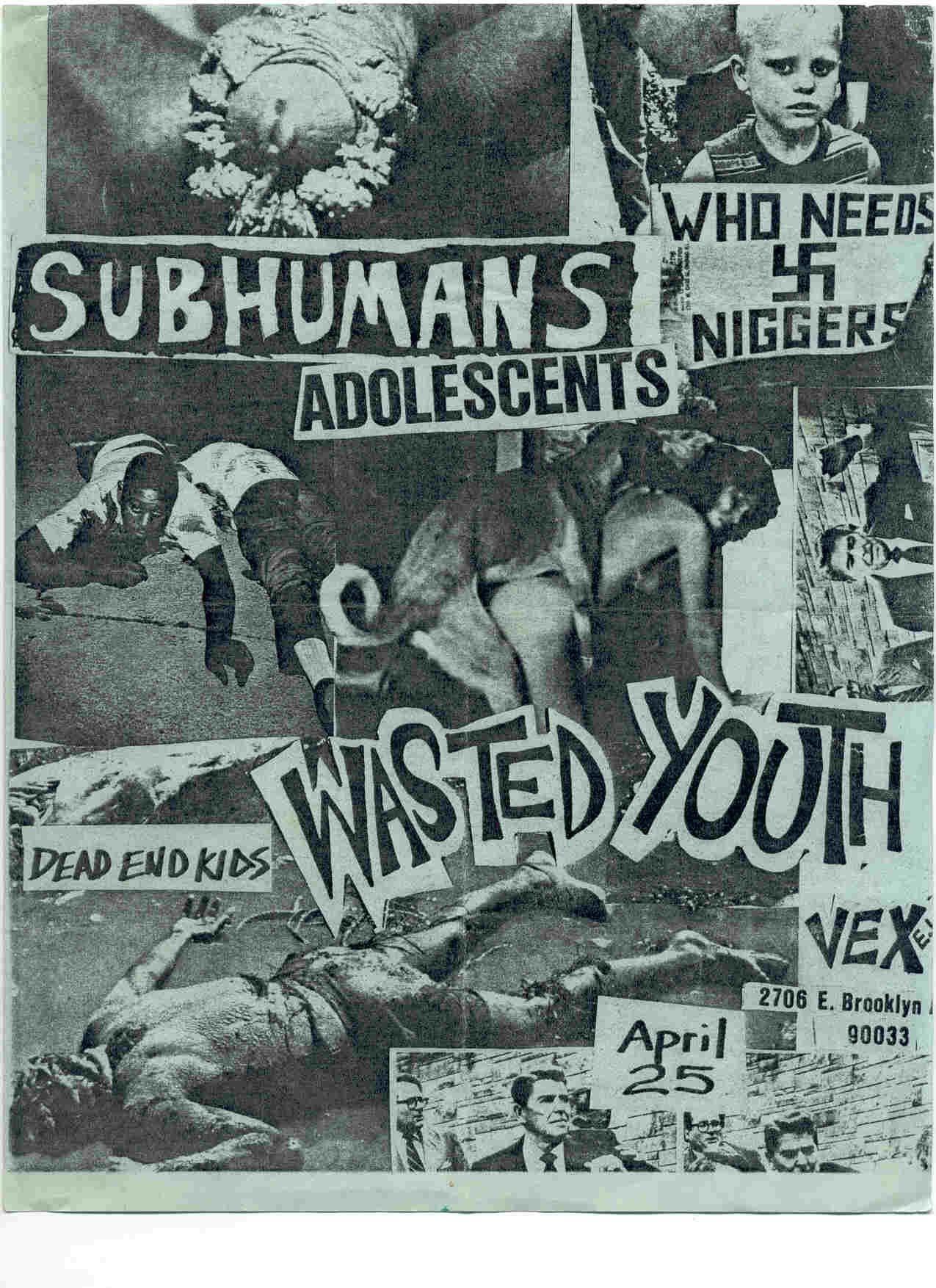 Subhumans/Wasted Youth