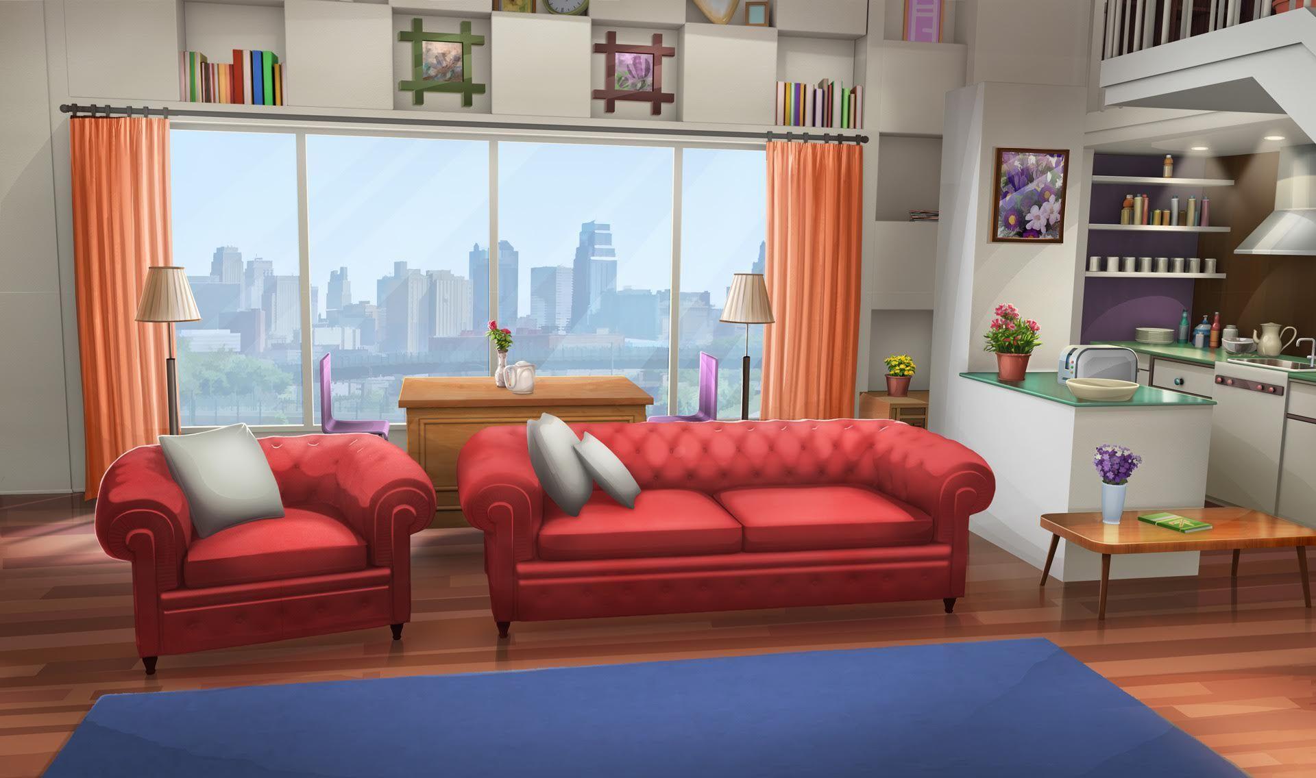 Anime Music Room Background In 2020 Living Room Background Anime Background Bedroom Designs Images