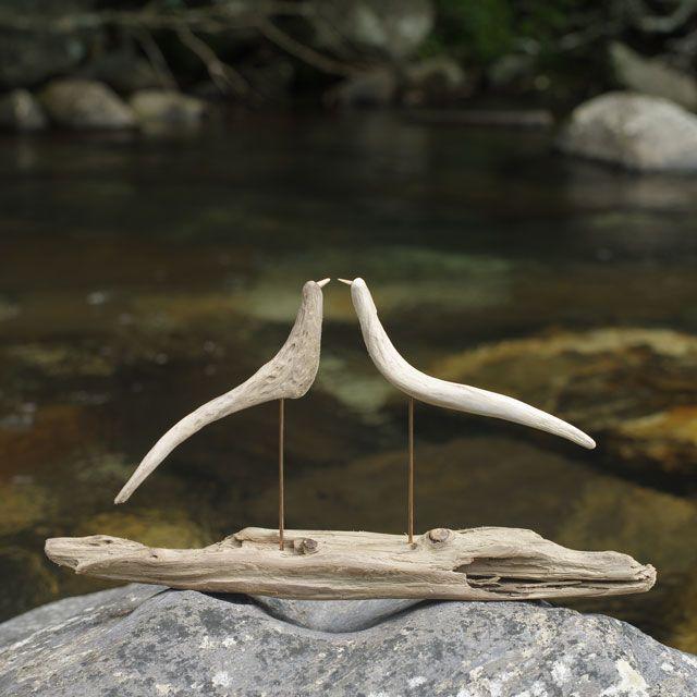 流木の鳥-260  2017    金澤 尚