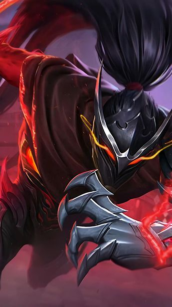 Making Animation: Hayabusa Shadow of Obscurity - Mobile Legends  [ Live Wallpaper ] PC + Mobile