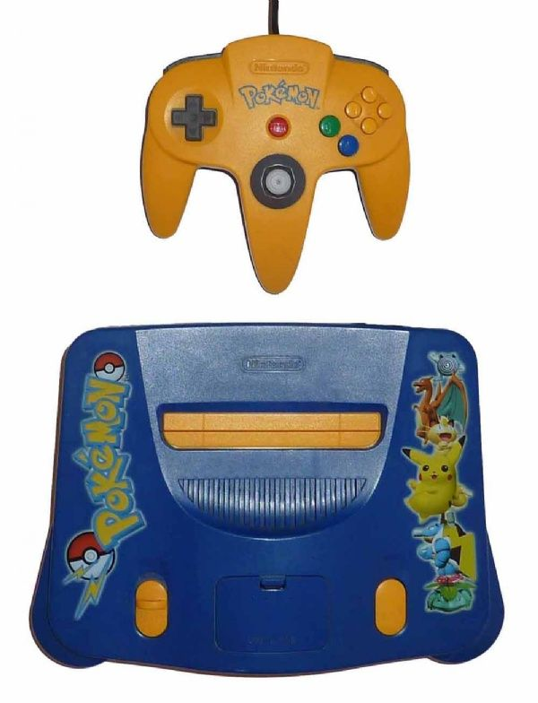 Buy N64 Console + 1 Controller (Pokemon) N64 Australia | Nintendo ...