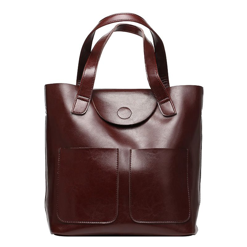 Guangzhou wholesale fashion Europe vintage style genuine leather women  handbag and purses XL0785 c8ba4603d1cf1