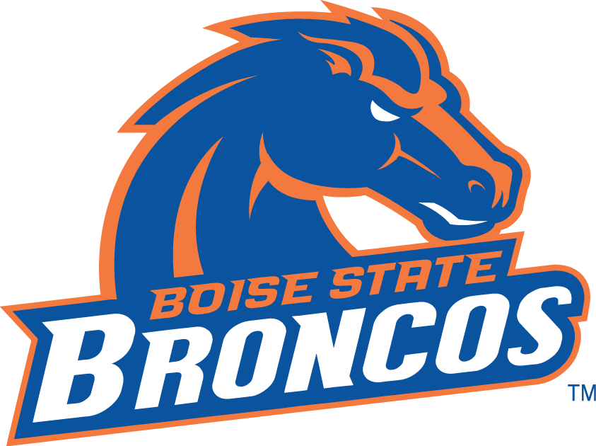 boise state broncos ncaa division i mountain west conference boise rh pinterest com boise state logo pumpkin pattern boise state logo font