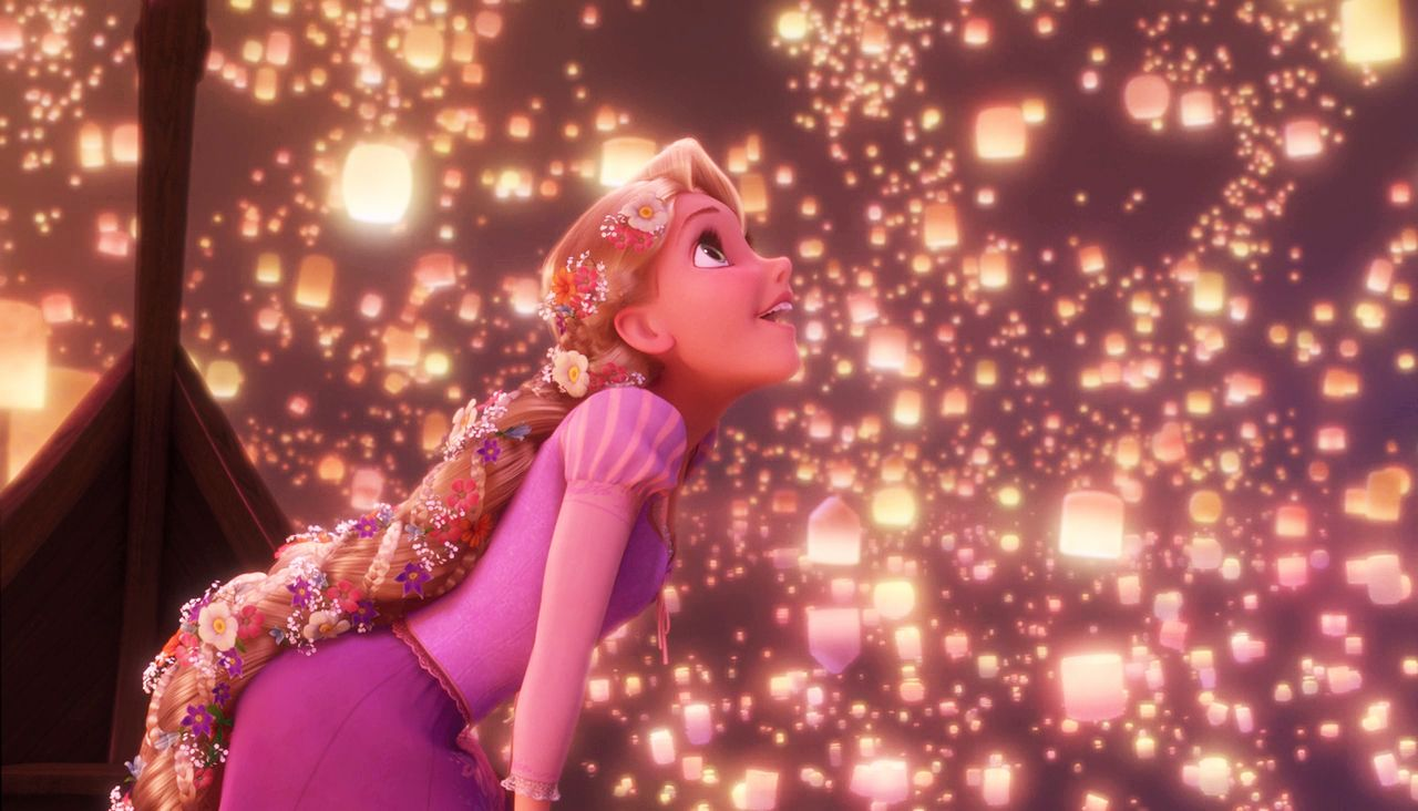 What is the best scene in an animated movie? : movies | Disney ... for Sky Lanterns Rapunzel  555kxo