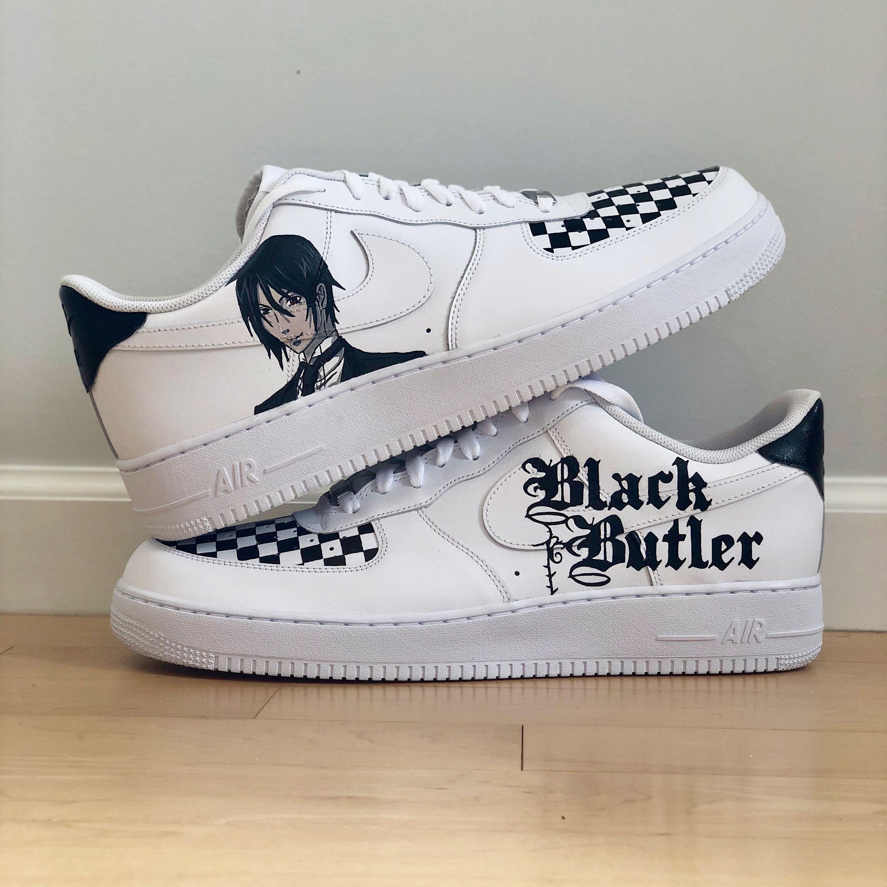 Custom Nike AF1 Painted sneakers, Custom shoes, Sneakers