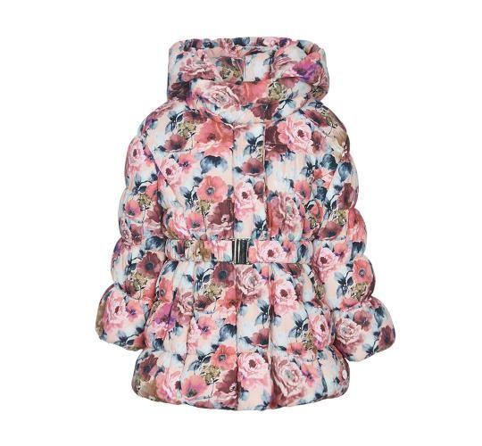 Παιδικό floral μπουφάν για κορίτσια Marasil  721cd699b15