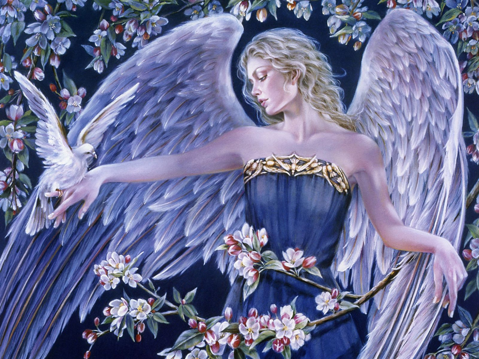 Pictures Of Angels And Flowers Flowers Angel Fantasy Angel Wallpaper Angel Images Angel Art