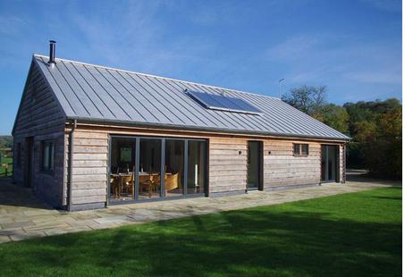Best Modern Barn With Zinc Roof … Architectuur Huis Schuur 640 x 480