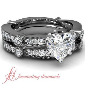 1 Ct Engagement Rings Sets On Hand 57