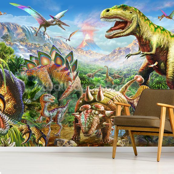 Dino Group in 2020 (With images) Mural, Wall murals