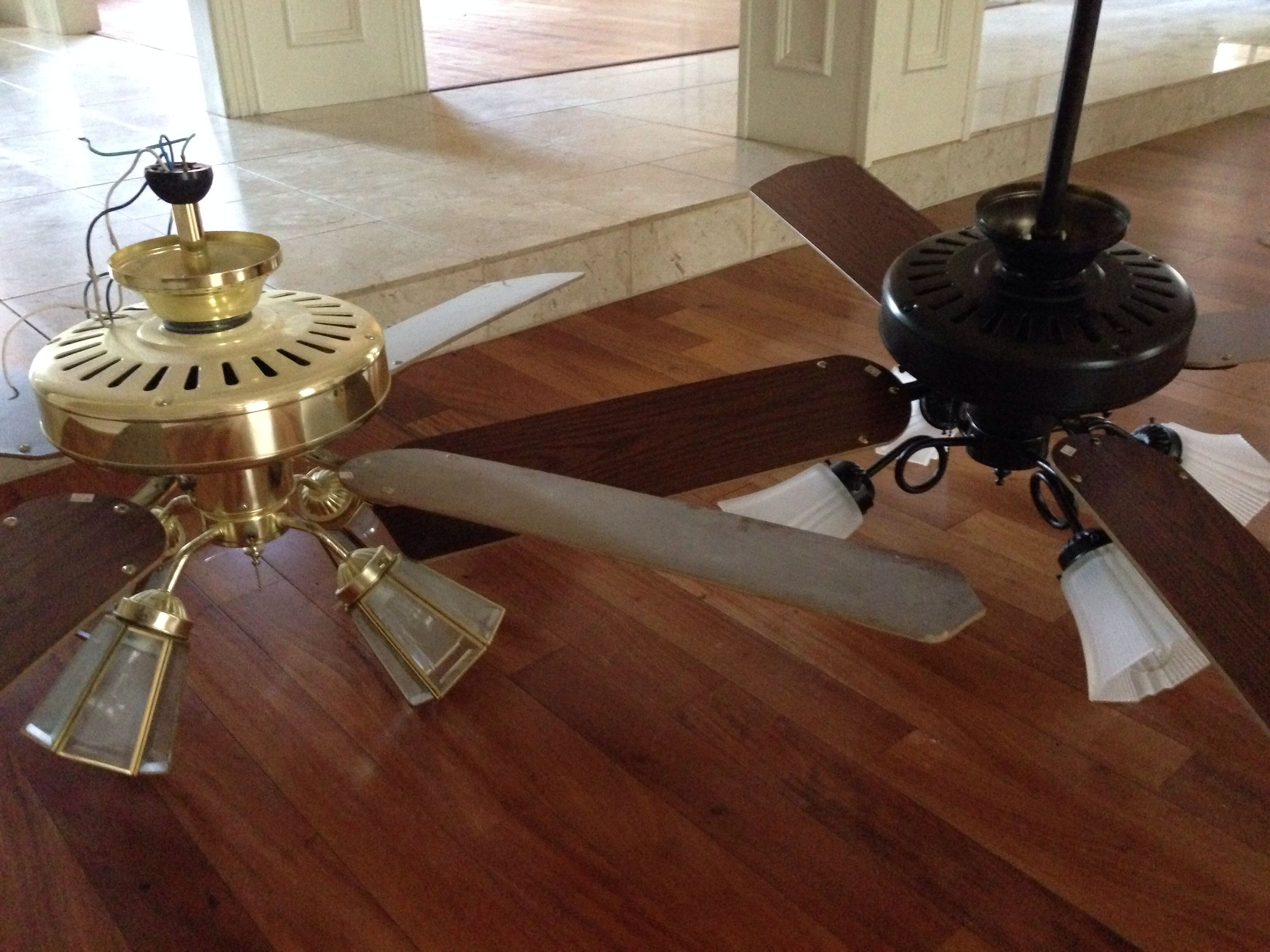 Rust Oleum Oil Rubbed Bronze Spray Paint Goodbye Br Ceiling Fan