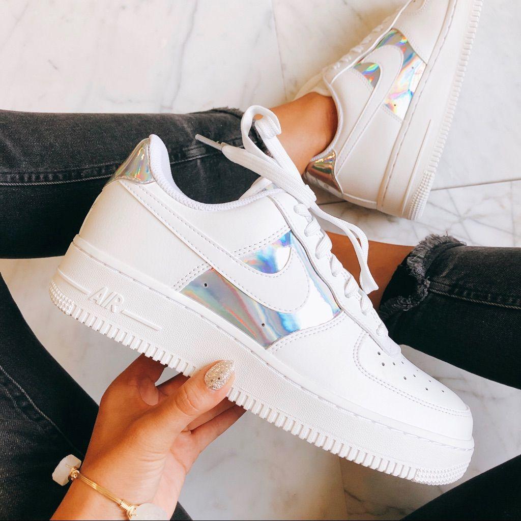 Air force 1 Metallic NWT en 2020 Zapatos de moda