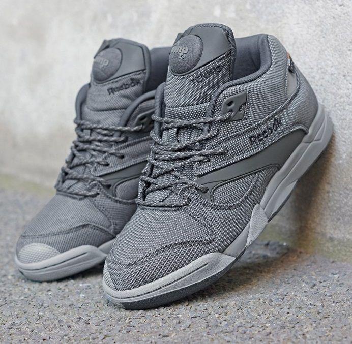 Reebok Court Victory Pump: Grey | Sneakers, Reebok pump