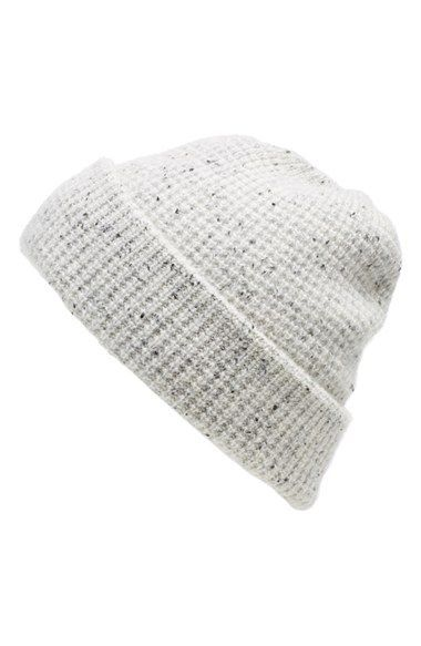 1821c23069f Women s Madewell Waffle Knit Cashmere Hat