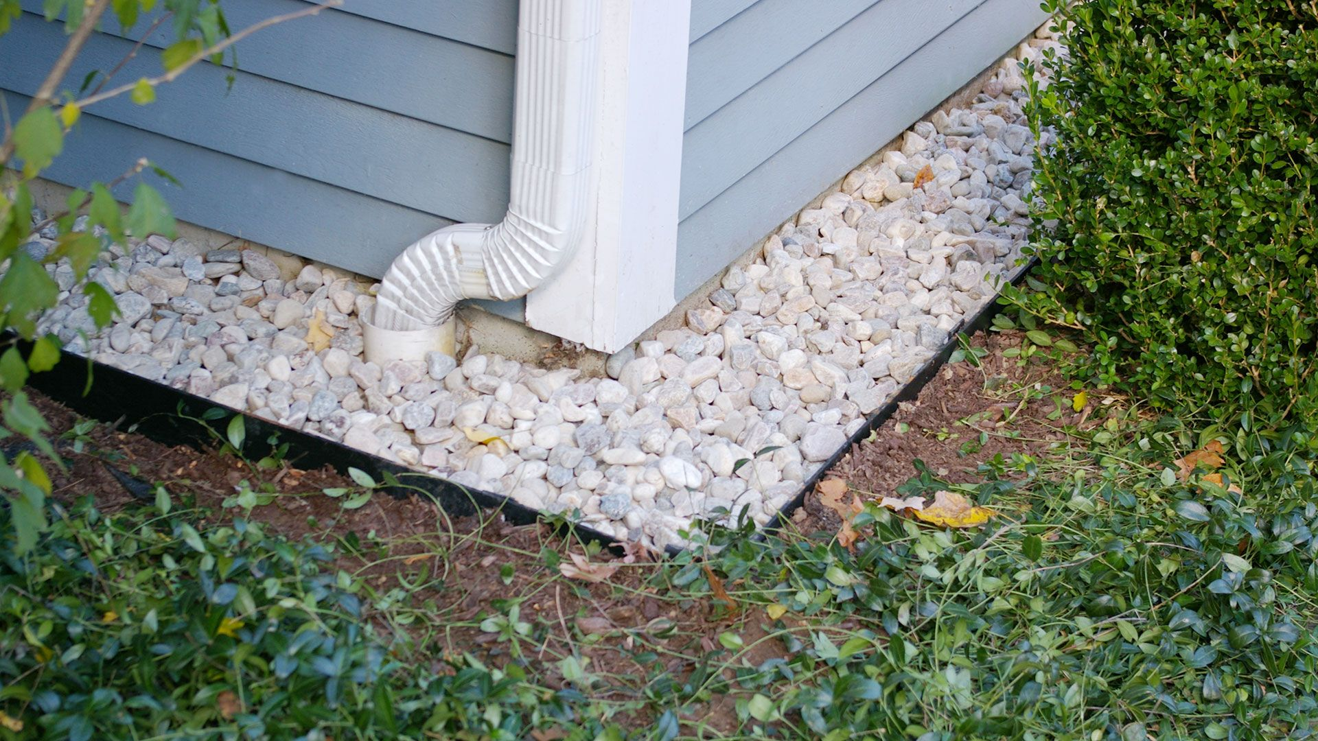 A Drip Edge Is A Trench Filled With Gravel That Prevents