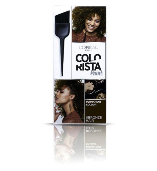 Hair Colour Colorista Paint Bronze Hair Permanent Colour