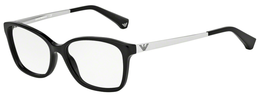 dbd83cf0a6e4 The Emporio Armani EA1006 glasses are a pair of semi-rimless glasses  designer for the men available .The frames are extremely lightweight