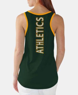 huge discount 72020 e428b G-iii Sports Women Oakland Athletics Clubhouse Tank ...
