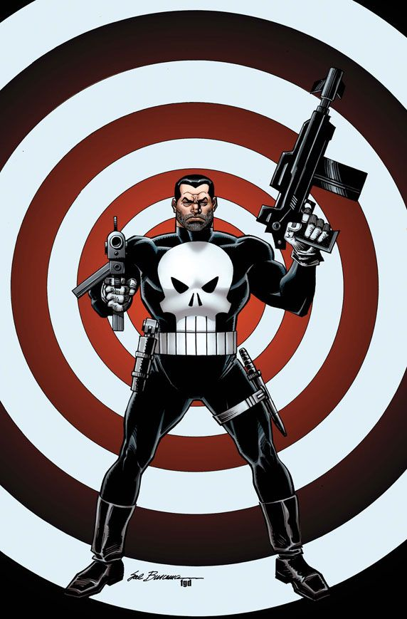 The Punisher  Sal Buscema Variant Comic Art Community
