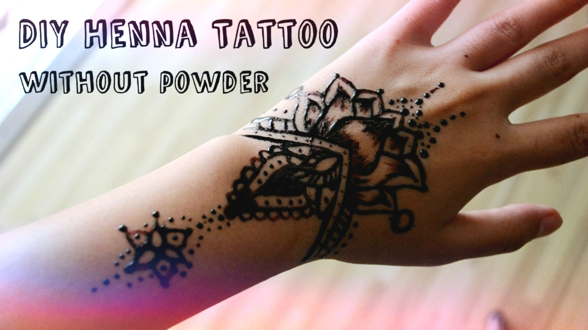 Diy Henna Tattoo Without Henna Powder Henna Tattoo Diy Diy Henna Homemade Henna