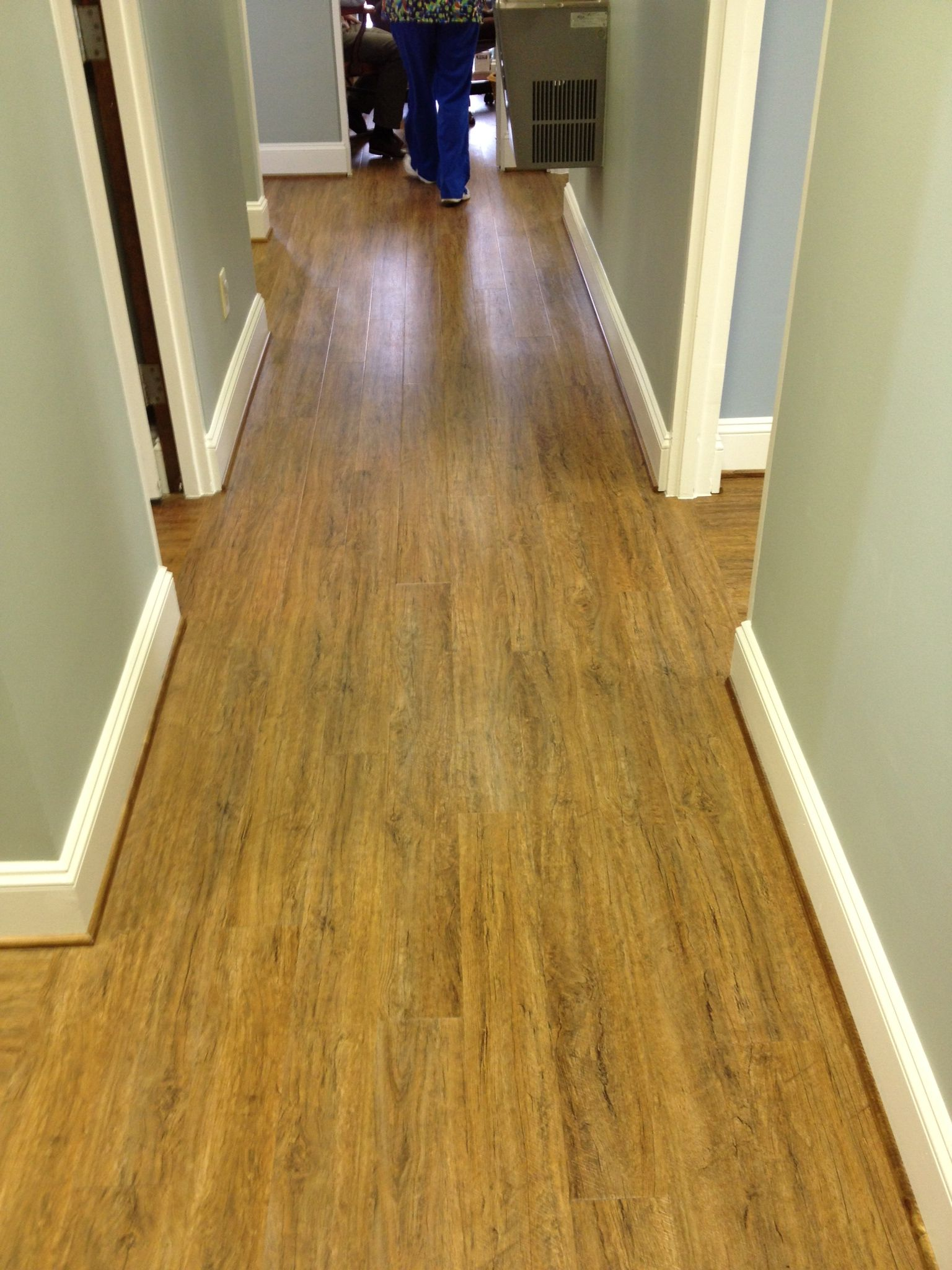 Smooth Sterile Floor For Medical Office Luxury Vinyl PlankVinyl