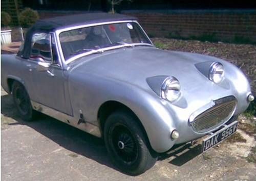 MG Midget Chrome Wires Solid Chassis Drives Well For Sale (1979)