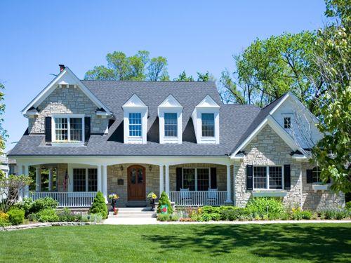 Custom Built Home With Wrap Around Porch Custom Built Homes Craftsman House Plans Custom Home Plans