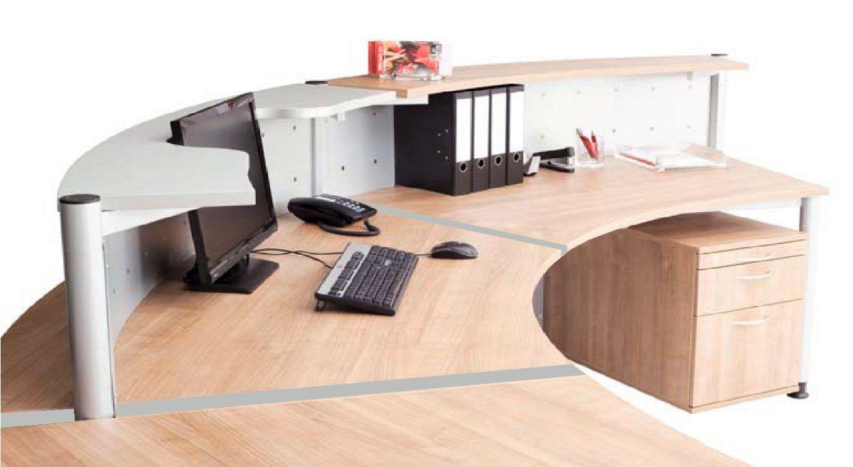 Genial schreibtisch halbrund deutsche deko pinterest for Schreibtisch deko