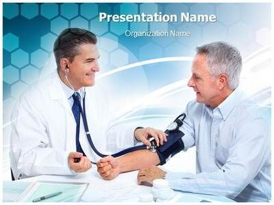 Doctor And Patient Powerpoint Presentation Template Is One Of The