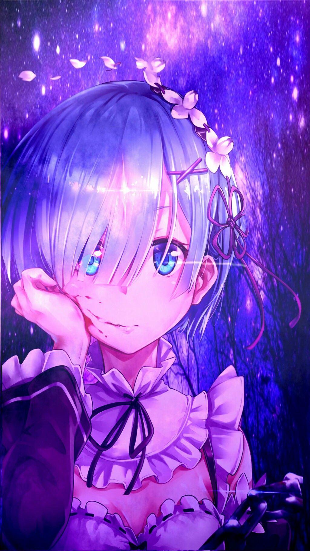 Rem ReZero (,,•﹏•,,)♡ in 2020 Anime art, Kawaii