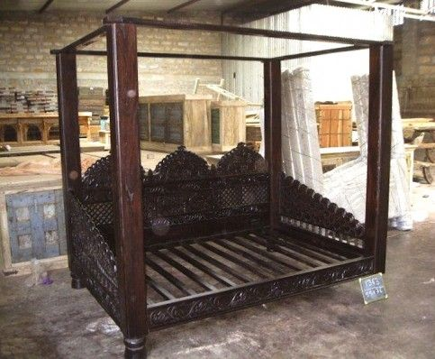 The Jhula Canopy Day Bed Was Fashioned After The Swings Of The