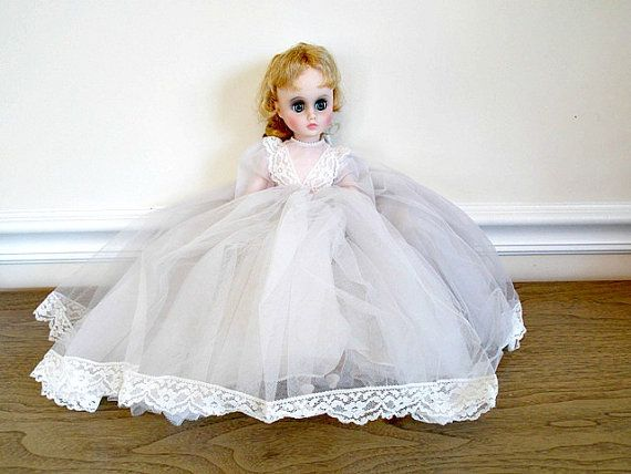 Madame Alexander Doll 17 inch Doll Wedding Bride by panther85