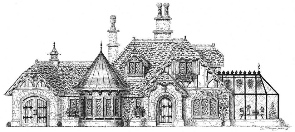 Baby Nursery Fairy Tale Cottage House Plans Home Style Buckle Small Tail Designs Building Castle Floo Storybook Homes Storybook House Plan Cottage House Plans