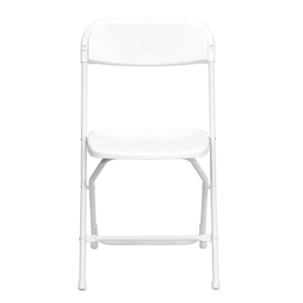 Carnegy Avenue White Metal Folding Chair Set Of 10 Plastic Folding Chairs Folding Chair Metal Folding Chairs