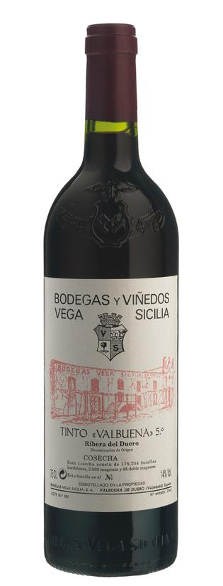 Vega Sicilia Valbuena 5º Año Beber Vino Etiquetas De Vino Vinos Y Quesos