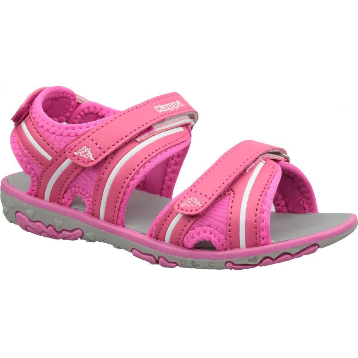Buty Sportowe Dzieciece Dla Dzieci Inny Sandaly Kappa Breezy Ii K 260679k 2210 Rozowe Baby Shoes Shoes Sandals