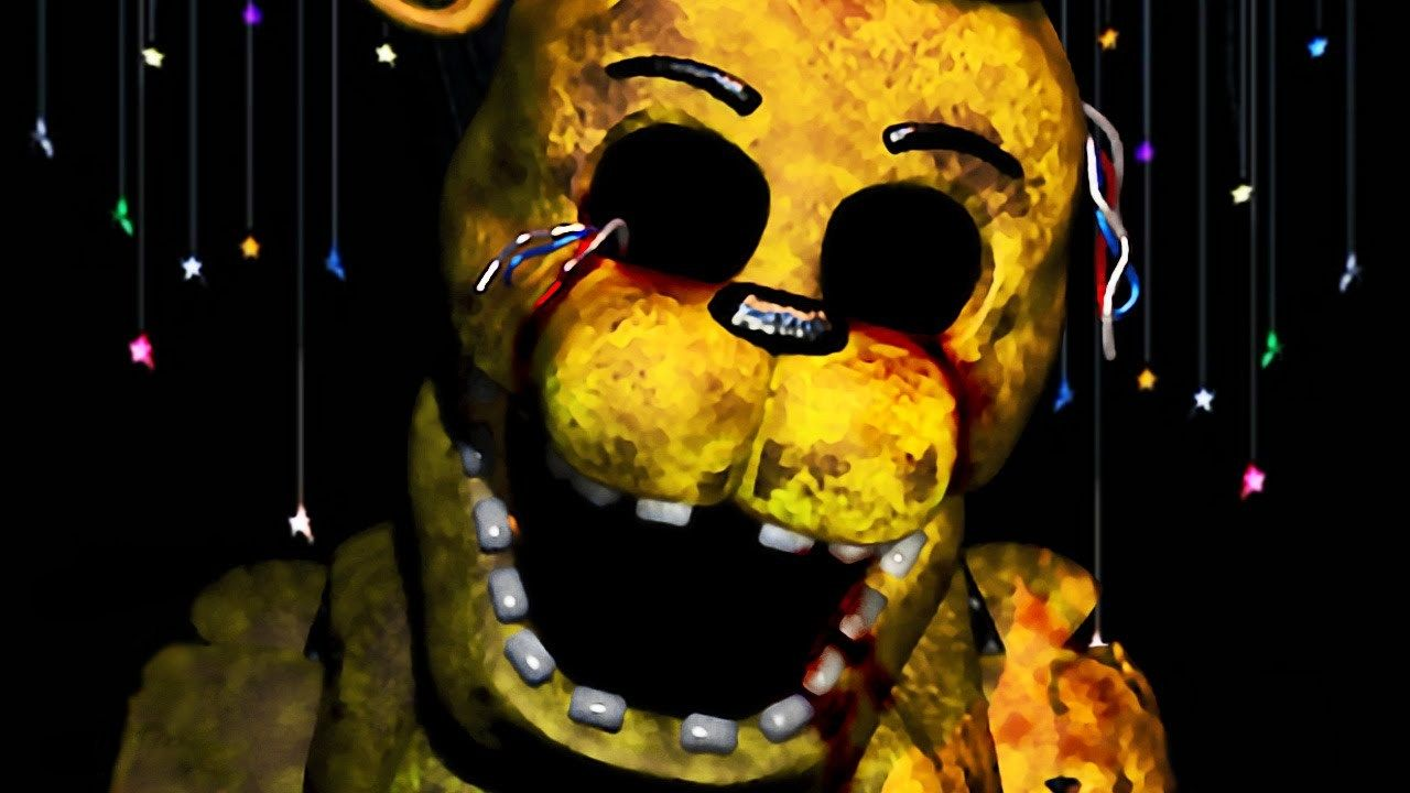 Golden Freddy is the Fred Bear if anyone think that that ...