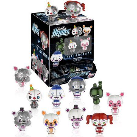 SISTER LOCATION Funko Mystery Minis Five Nights at Freddy/'s Blind Box Figures