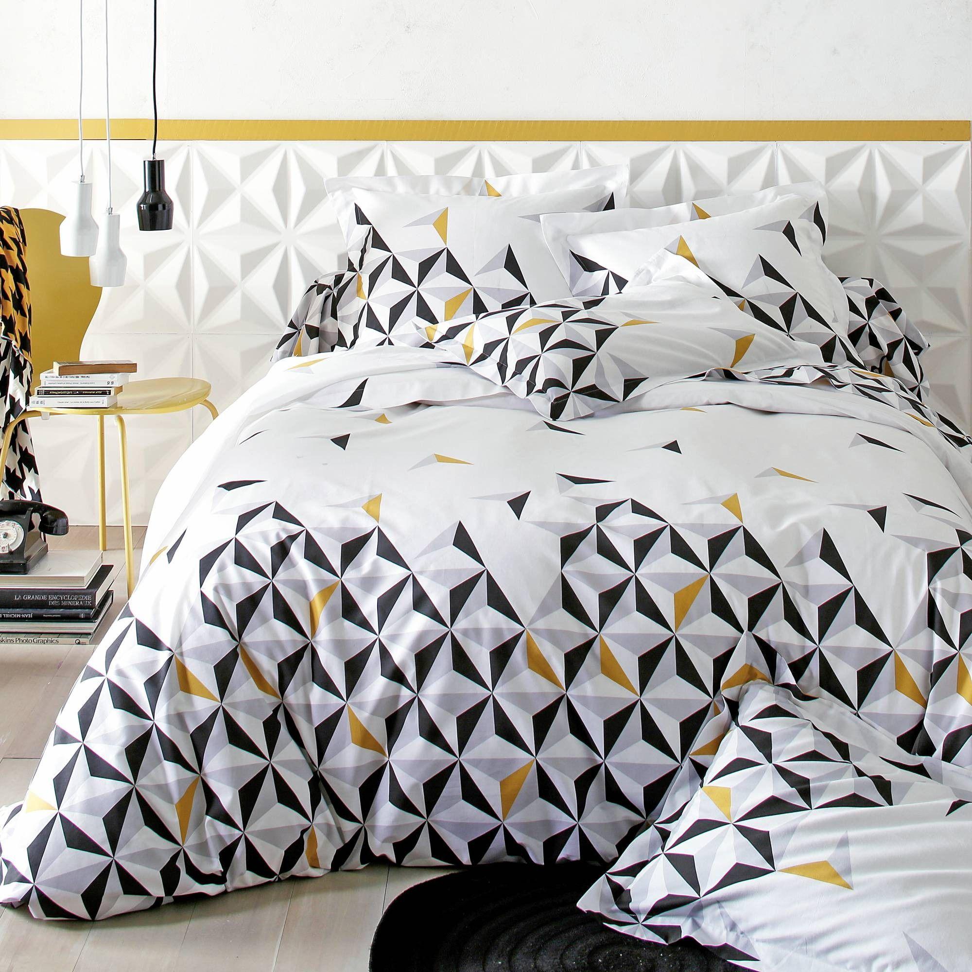 Préférence Housse de couette coton OPTIC - 3 Suisses | chambre | Pinterest  XY38