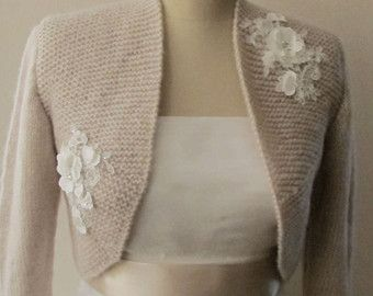 Wickeln Sie Braut Bolero Shrug Hochzeit Wolle von crochetbutterfly