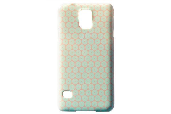 Orange Back Pastel Honeycomb Phone Case