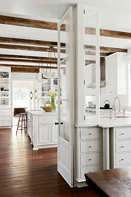 Beautiful Kitchen by Darryl Carter . The Collected Home