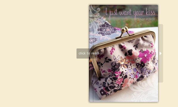 flipsnack - DIY clasp purse tutorial - download the PDF