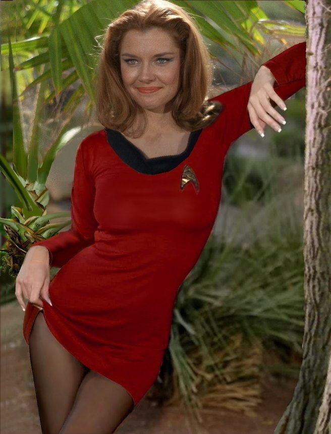 Sexy women of star trek
