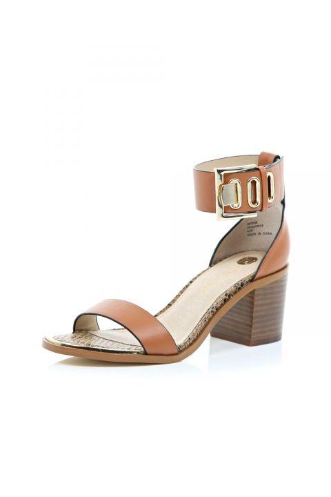 River Island Chunky Block Heel Sandals, £42