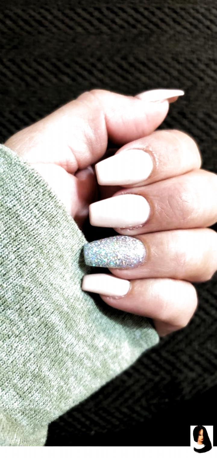 acrylic nails medium Nails   1000