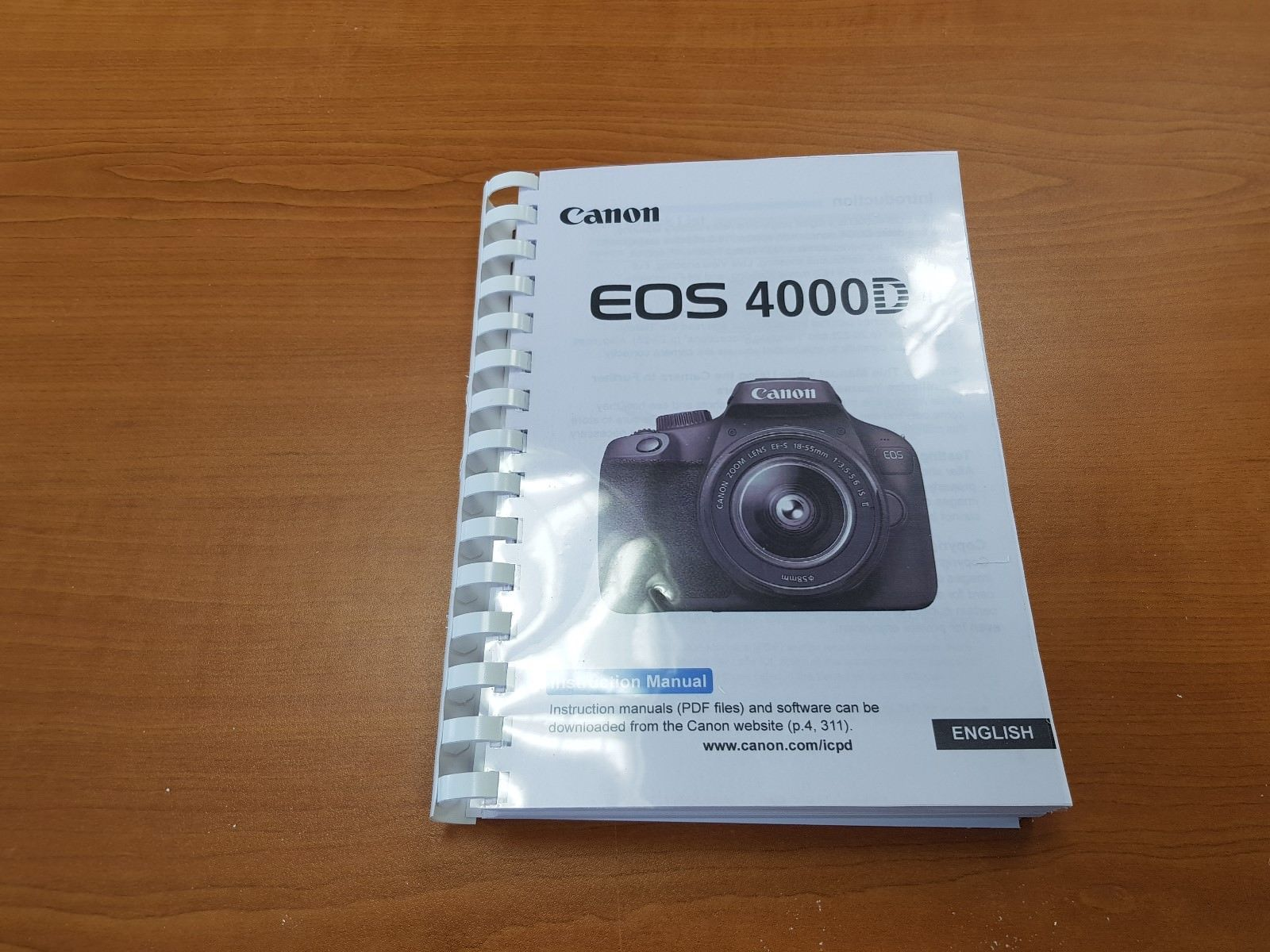 CANON EOS 20D PRINTED INSTRUCTIONS USER MANUAL GUIDE HANDBOOK ...
